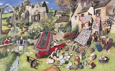 Paintings by Richard Adams British Artist