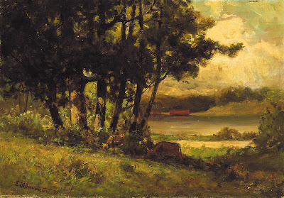 Painting by Edward Mitchell Bannister