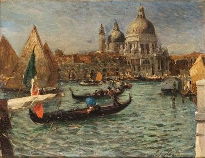 Painting by Italian Artist Giorgio Szoldaticz