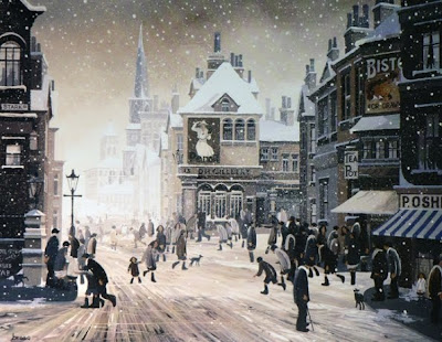 Winter Painting by Braaq British Artist