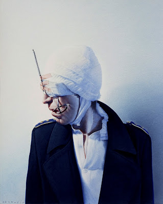 Painting by Gottfried Helnwein Austrian Artist