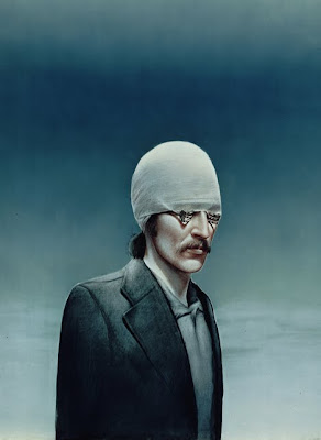 Painting by Austrian Artist Gottfried Helnwein