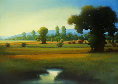 Landscape Painting by British Artist Linn Windsor