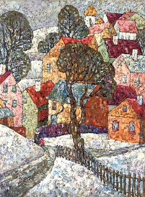 Paintings by Russian Artist Nadya Stupina