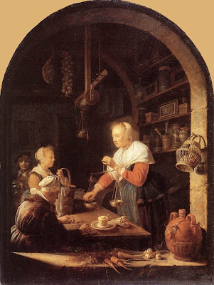 Gerrit Dou Painting The grocer's Shop
