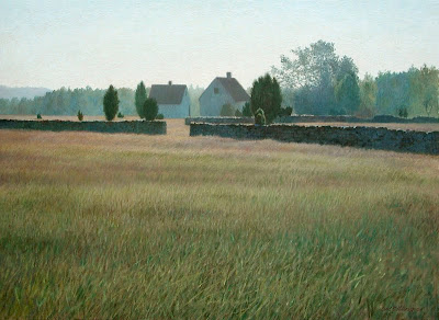 Landscape Painting by Swedish artist Lars Ostling