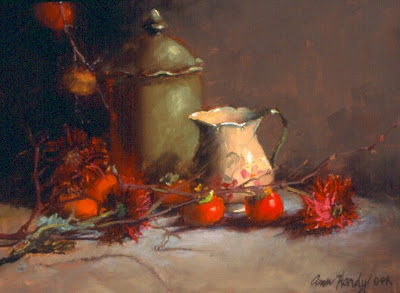 Oil Paintings by American Painter Ann Hardy