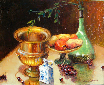 Still Life Paintings by American Painter Ann Hardy