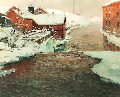 Oil Paintings by Norwegian Painter Frits Thaulow