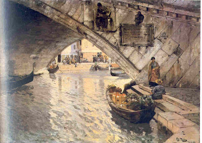 Painting by Norwegian Painter Frits Thaulow