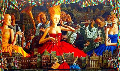 Roman Zaslonov's Paintings
