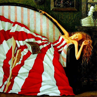 Painting by Russian Artist Roman Zaslonov