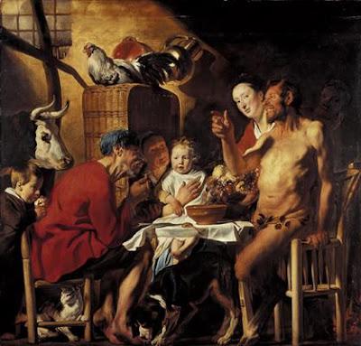 Oil Painting by Jacob Jordaens Flemish Artist