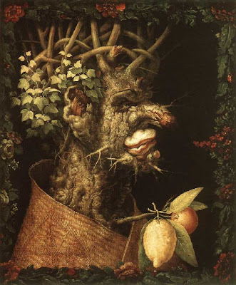 Paintings by Giuseppe Arcimboldo Winter