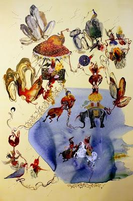 Painting by Shiva Ahmadi Iranian Artist