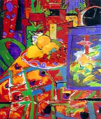 Paintings by Manel Anoro Spanish Artist