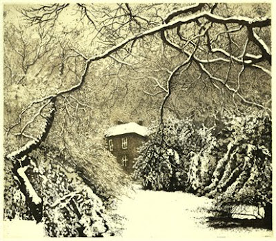Etching by British artist Jo Barry