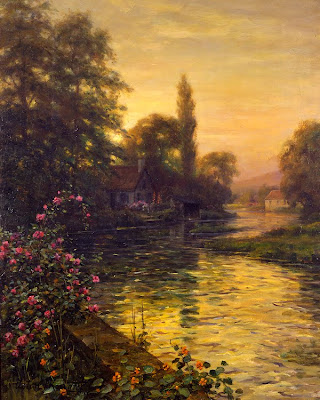 Landscape Painting by Louis Aston Knight American Artist