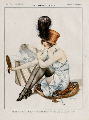 Illustration by French Artist Cheri Heruard