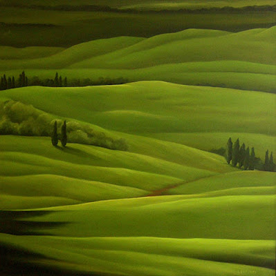 Landscape Painting by Canadian Artist Jane Brookes