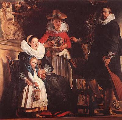 Oil Paintings by Flemish Baroque Painter Jacob Jordaens