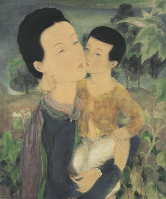 Oil Painting by Vietnamese Artist Le Pho