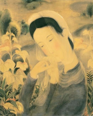 Women Painting by Vietnamese Artist Le Pho
