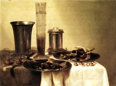 Painting by Dutch Painter Willem Claesz Heda