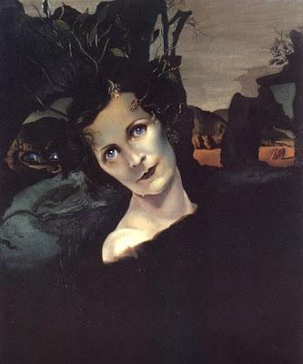 Lady Louis Mountbatten by Salvador Dali