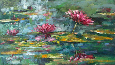 Oil Painting by Malgorzata Kruk Polish Artist
