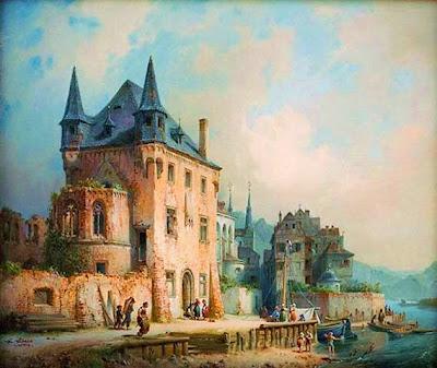 Oil Painting by Michel Neher German Artist