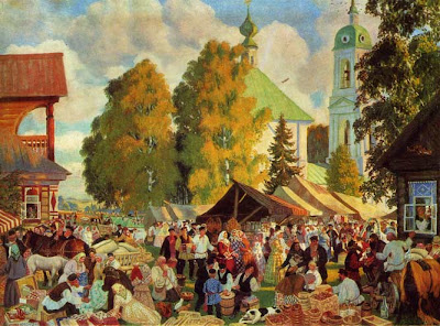 Paintings by Russian Artist Boris Kustodiev