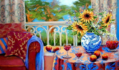 Oil Painting by Katherine Steiger American Artist