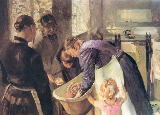 Painting by Norwegian Artist Christian Krohg