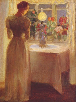 Painting by Danish Impressionist Artist Anna Ancher