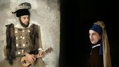 Music Video Famous Painting Recreations by Hold Your Horses - 70 Million
