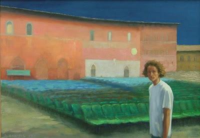 Painting by Polish Artist Zbigniew Chrostek
