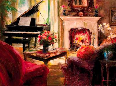 Painting by American Artist Stephen Shortridge