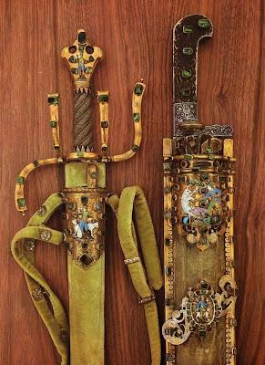 Dresden Armory (Rüstkammer). Dresden Goldsmith Gabriel Gipfel, c. 1608