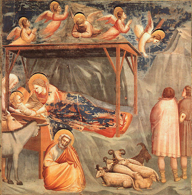 Scenes from the Life of Christ. Nativity by Giotto