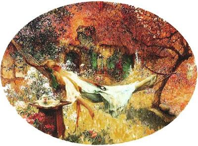 Henri Gaston Darien. Summer Garde