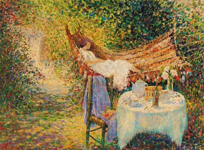 Painting by Henri Joseph Pauwels