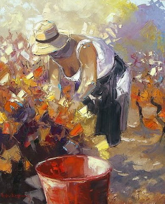 Painting by  Andre Deymonaz French Artist