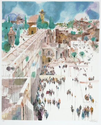 Paintings by Israeli Artist Shmuel Katz