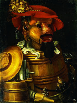 Paintings by Giuseppe Arcimboldo
