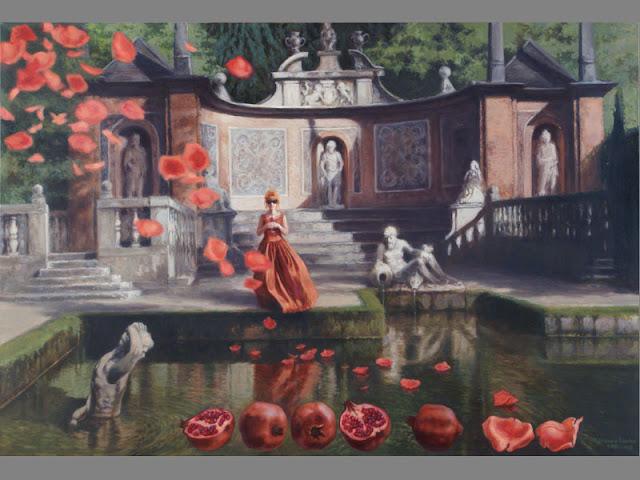 Painting by Polish Artist Joanna Sierko