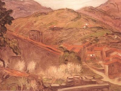 Painting by Hungarian Artist Jozsef Rippl Ronai