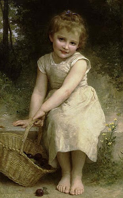 Children in Painting by William-Adolphe Bouguereau