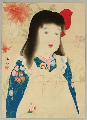 Japanese Artist Kiyokata Kaburagi