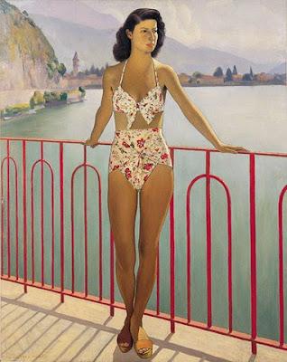 Oil Painting by Ugo Celada da Virgilio Italian Artist